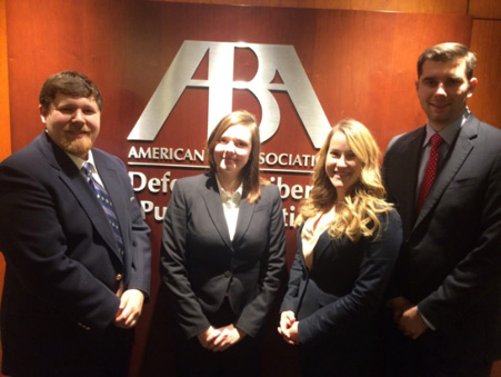ABA Arbitration Competition Team - 5th Place Nationally
