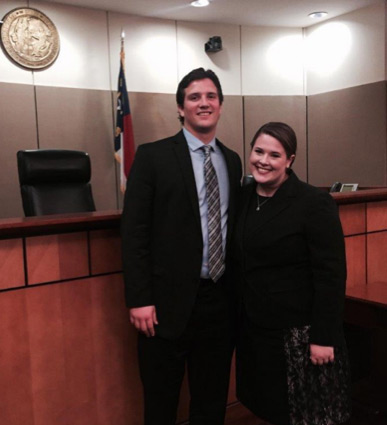 Billings Exum & Frye Moot Court Competition Team