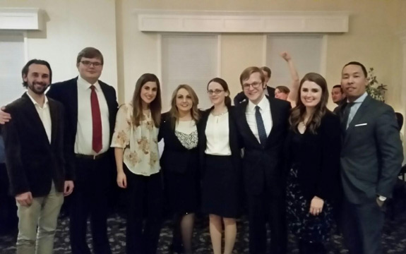 Wagner National Labor & Employment Moot Court Team - Octofinalists