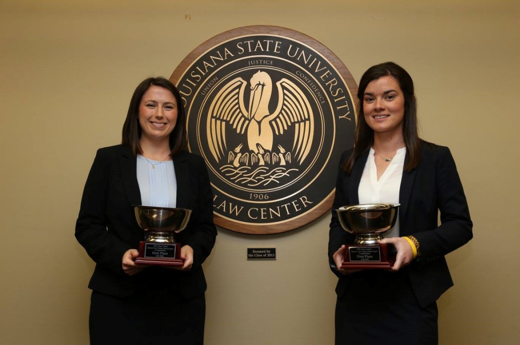 2016 Robert Lee Tullis Moot Court Competition Winners
