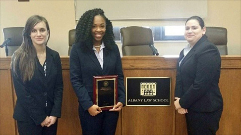 2016 Gabrielli National Family Law Moot Court Team