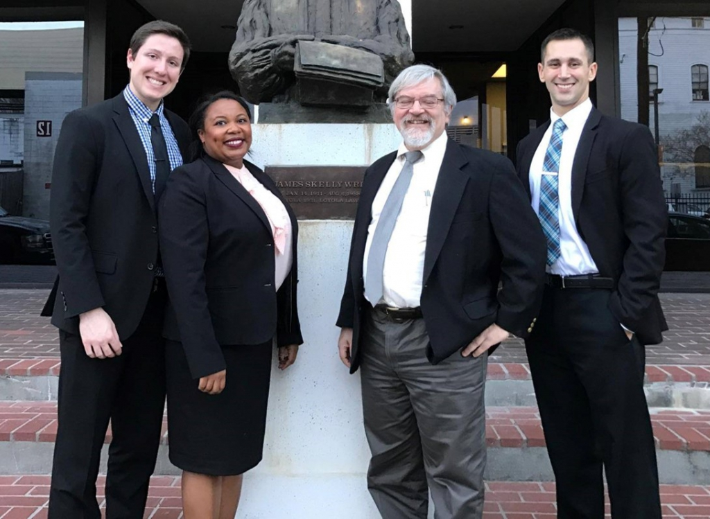Tom Fore Phillips National Moot Court Competition Team