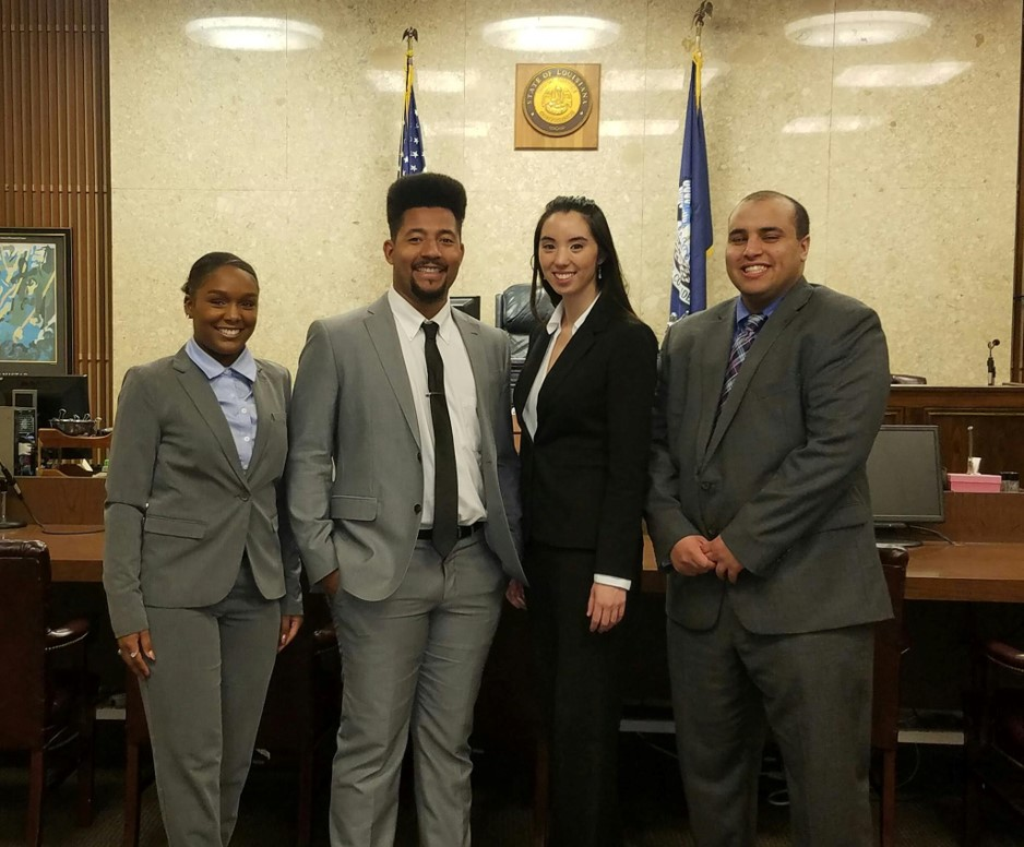 NBLSA Thurgood Marshall Mock Trial Competition Team