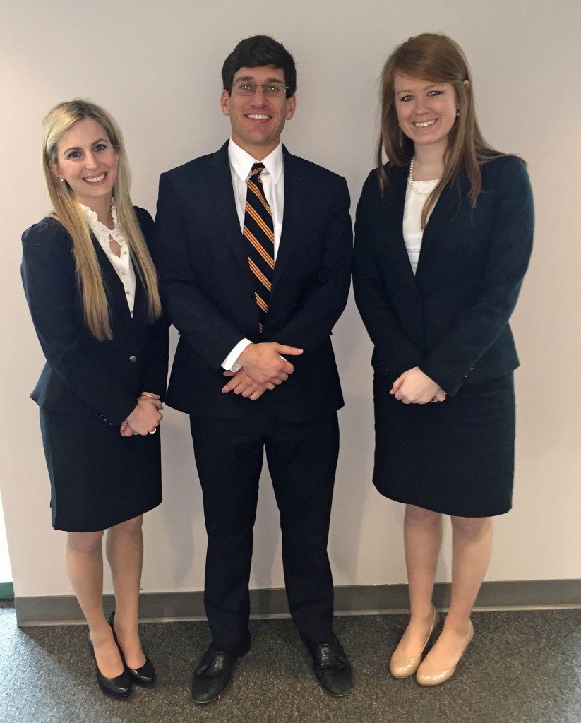 Ruby Vale Corporate Law Moot Court Team