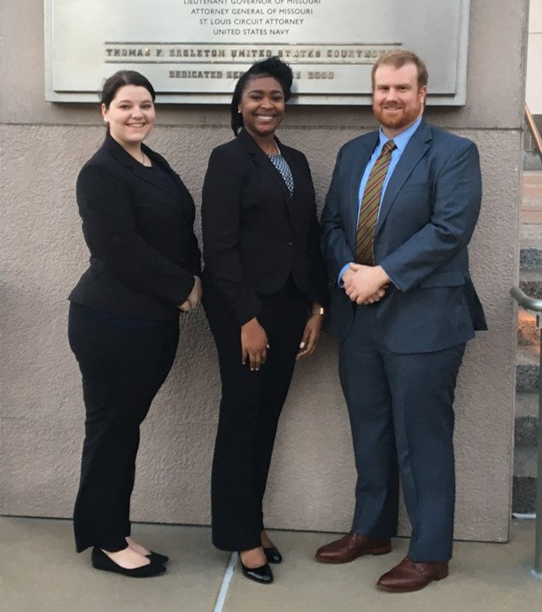 "Thomas J. Moran and Erin Moran Thrash ABA National Appellate Advocacy Competition ""Purple"" Team"