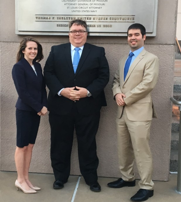 "Thomas J. Moran and Erin Moran Thrash ABA National Appellate Advocacy Competition ""Gold"" Team"