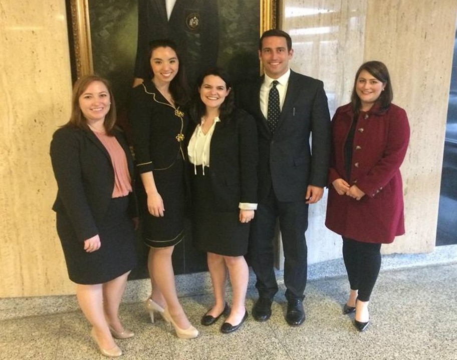 "American Association of Justice Student Trial Advocacy Competition ""Gold"" Team"