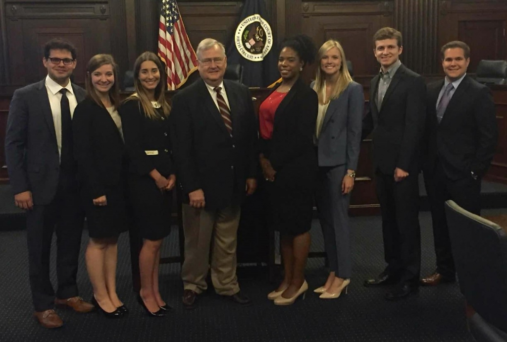 John R. Brown National Admiralty Law Moot Court Competition Team