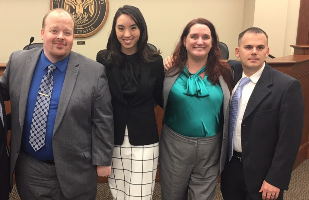 Louisiana State Bar Association Trial Competition Team