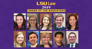 2019 Order of the Barristers Members
