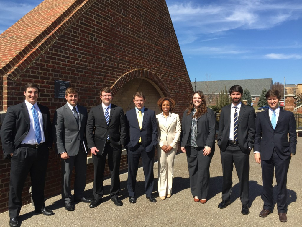 National Energy and Sustainability Moot Court Competition Team