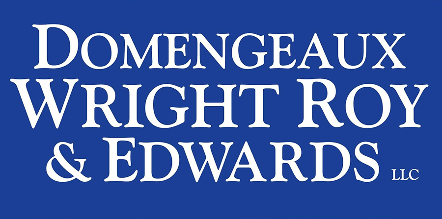 Logo for Domengeaux, Wright, Roy, and Edwards law firm