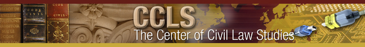 banner of the Center of Civil Law Studies