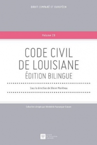 cover of the Code Civil de Louisiane book