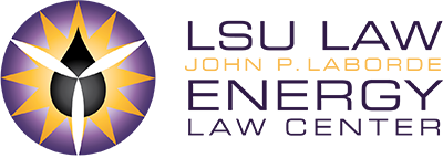 LSU Law John P. Laborde Energy Law Center Logo