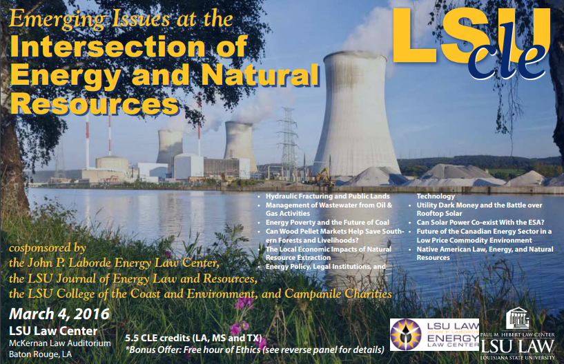 2016 Symposium on Energy and Natural Resources