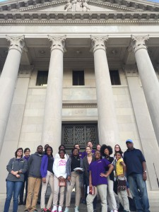 LSU Environmentors visit the Law Center