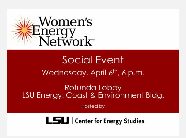 Women's Energy Network Social Event