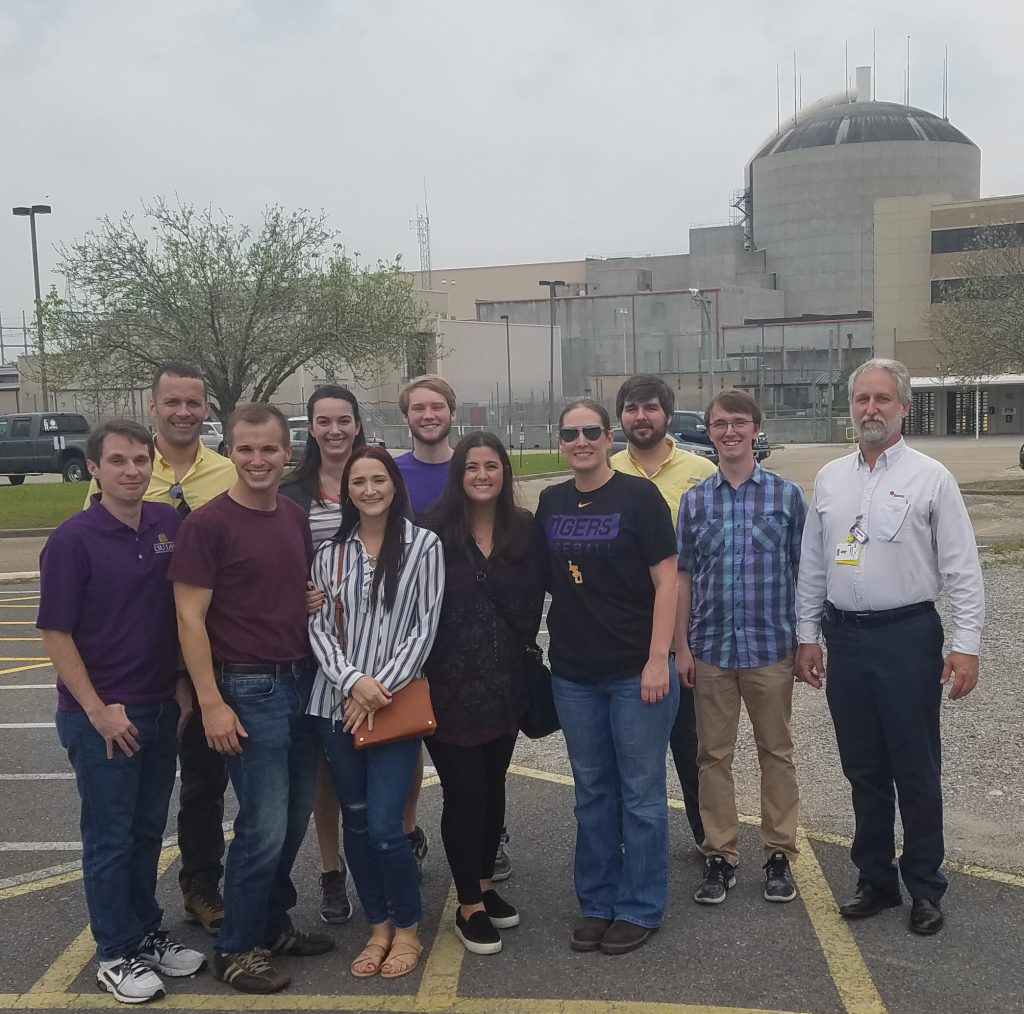 LSU Students Visit River Bend Nuclear Plant