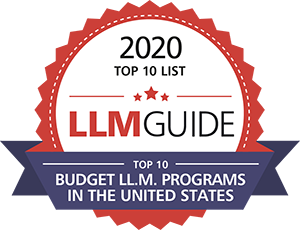 Badge: Top 10 Budget LL.M.s in the US