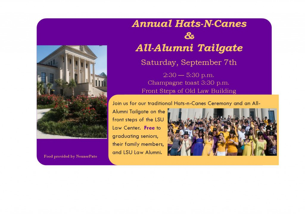 2013 All Alumni Tailgate Invite Email