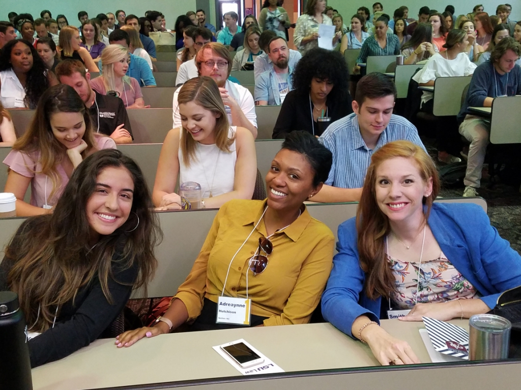 Students at the 2019 Orientation