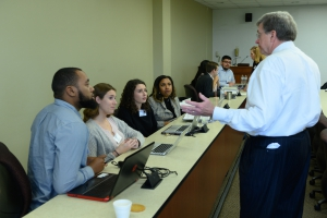 LSU Law students at the 2019 Apprenticeship Week