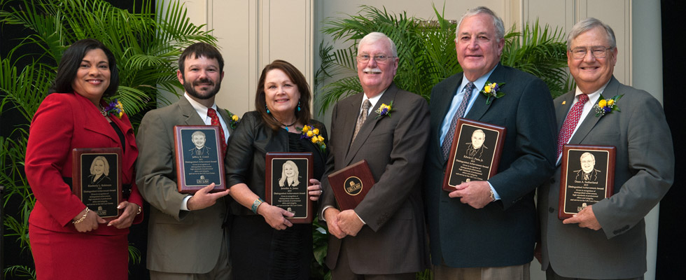2015 LSU Law Center Distinguished Alumnus and Achievement Honorees