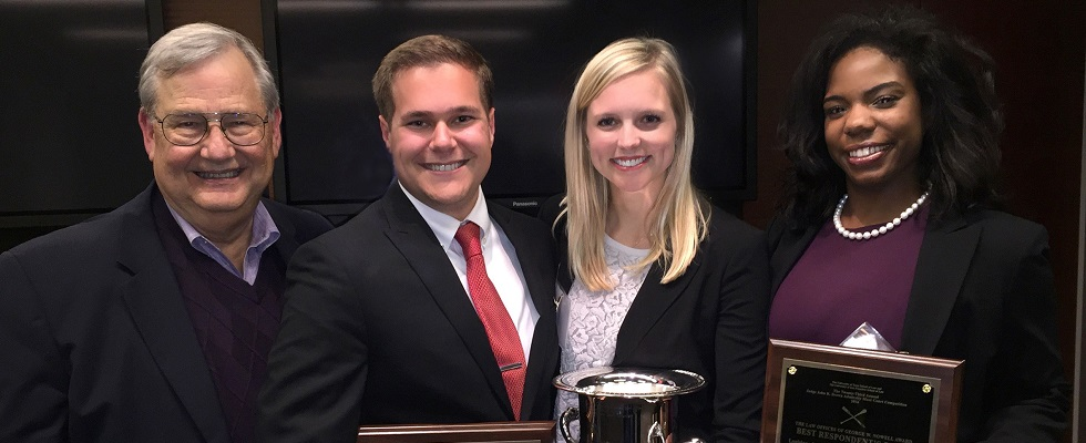 National Champs! Moot Court Teams Take Top Prize